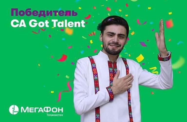 "Chorshanbe Alovatov won the ""Central Asia's Got Talent"" show!!!"
