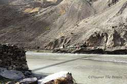 Car pickup at the Bartang river