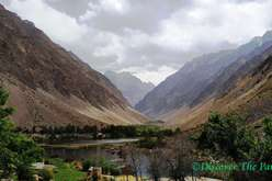 Jizew village of Bartang valley