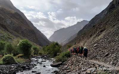 Day 01: Trekking to Jizew
